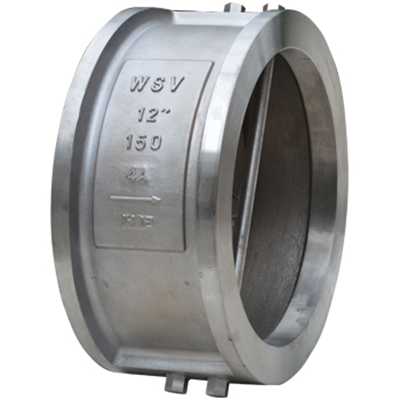 12 Inch Wafer Type Dual Plate Check Valve