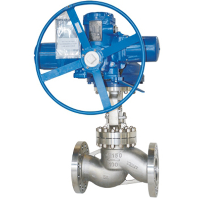 DN150 Electric Actuated Globe Valve